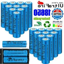 10/20x UltraFire 18650Battery 3.7V Li-ion Rechargeable Batte
