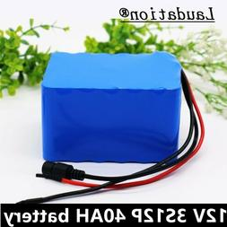 12V 40ah rechargeable 12.6V high-power LI-ion battery for in