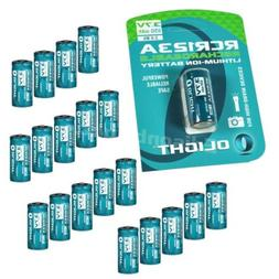 20 pack Olight RCR123A  Li-ion protected rechargeable batter