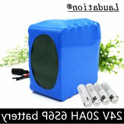 24V 20AH Li-ion Battery 25.2V Rechargeable fit for Bicycle 3