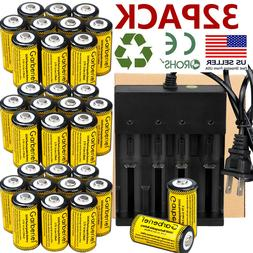 2800mAh Rechargeable Batteries 16340 3.7V Li-Ion Netgear Arl