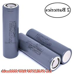2x LG INR 21700 M50 M50T 7.27A 5000mAh Rechargeable High Dra