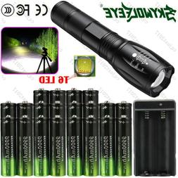 4~20X Li-ion Battery Rechargeable Batteries + Tactical LED F