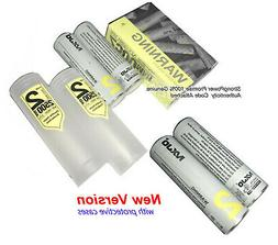 4 Authentic MXJO 18650 Flat Top Battery/2500mAh 35A 3.7V Hig