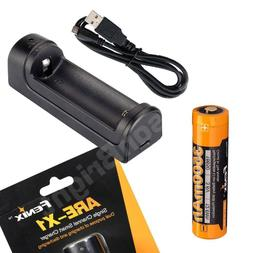 Fenix ARE-X1 Charger w/ARB-L18-3500 18650 rechargeable Li-io