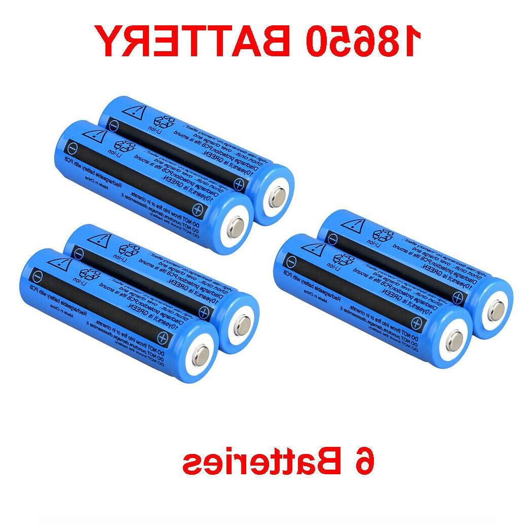 18650 Battery Rechargeable For Flashlight Head Torch