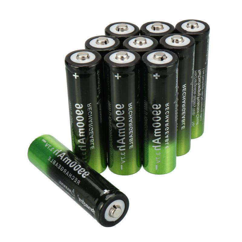 2-20 Pack Li-ion Rechargeable LED Torch