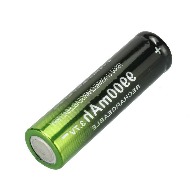 2-20 Li-ion Rechargeable Battery LED Torch Flashlight