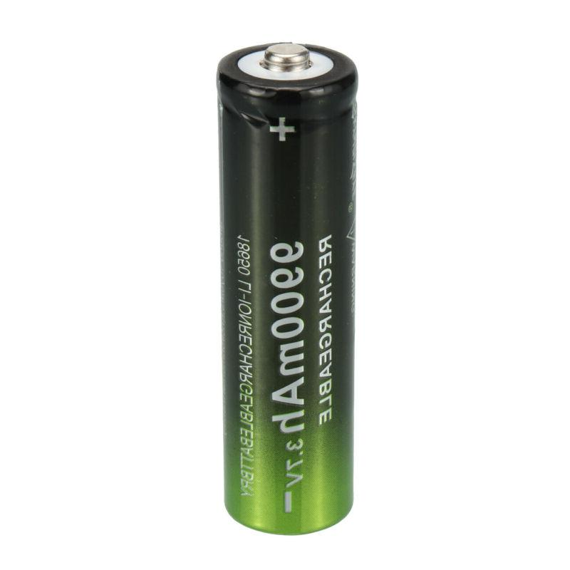 2~20X Batteries Rechargeable Li-ion for Flashlight Head Light