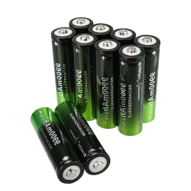 2~20X Batteries Rechargeable 3.7V Li-ion for Head Light