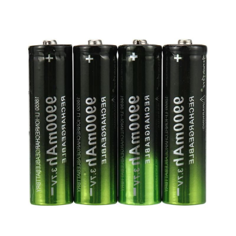 2/4PCS Li-Ion Rechargeable + Dual Charger