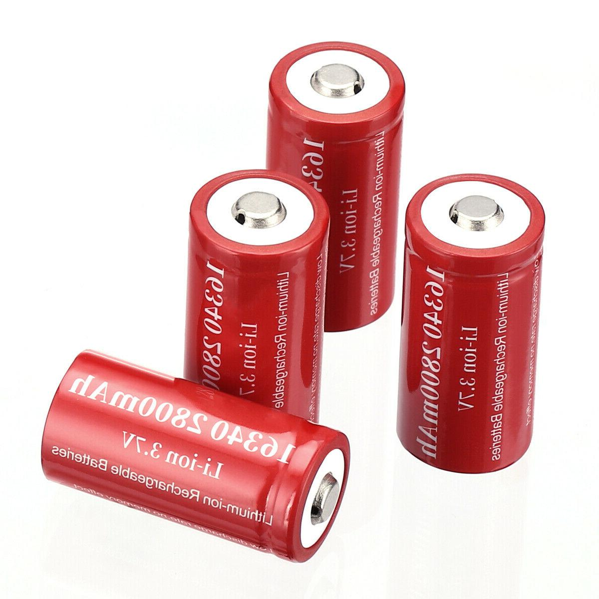 2800mAh Rechargeable Li-ion Battery Charger Lot US