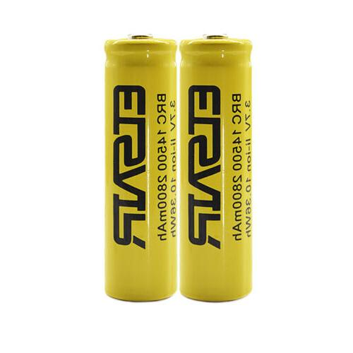 2800mAh Rechargeable 3.7V Batteries Cell With