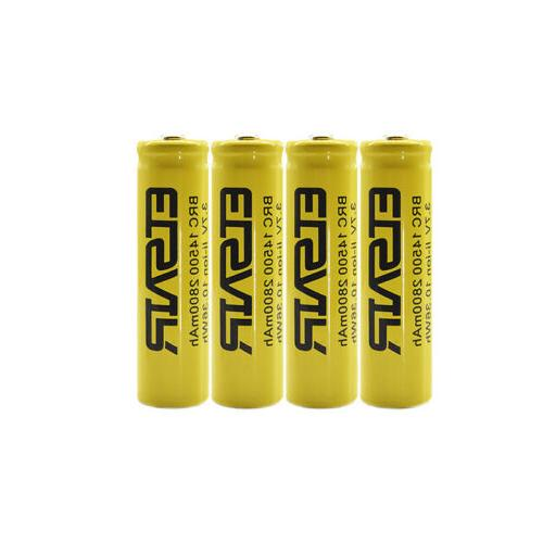 2800mAh Rechargeable 3.7V With Charger