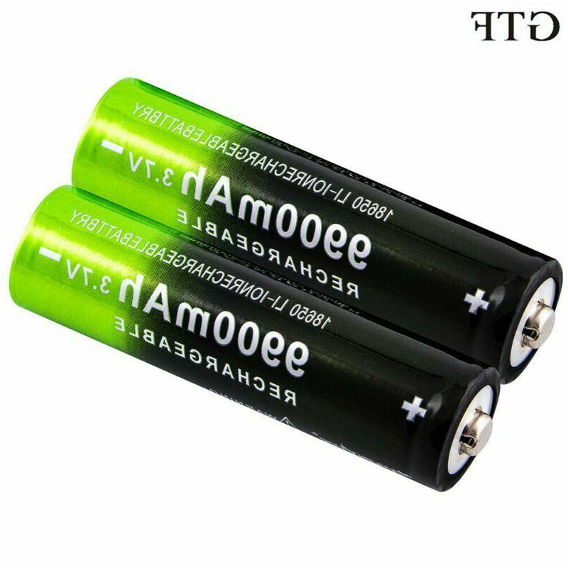 3 7v 18650 9900mah rechargeable battery high