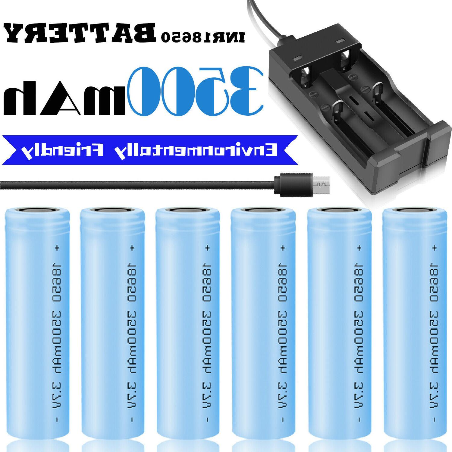 3500mah 3 7v 18650 battery rechargeable li