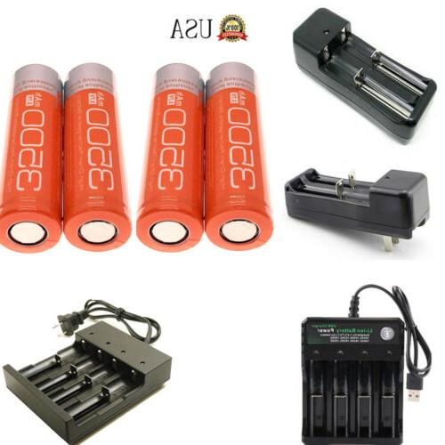 3500mah flat top 18650 rechargeable battery 3