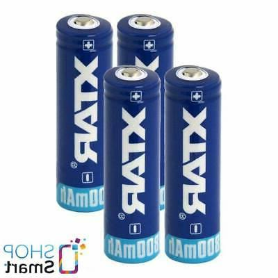 4 14500 aa battery rechargeable r6 3