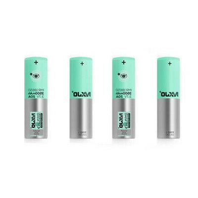 4Pc IMR 20A Rechargeable Batteries Li-Ion Flat US
