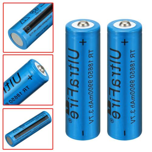 Lithium Rechargeable + 2X Charger