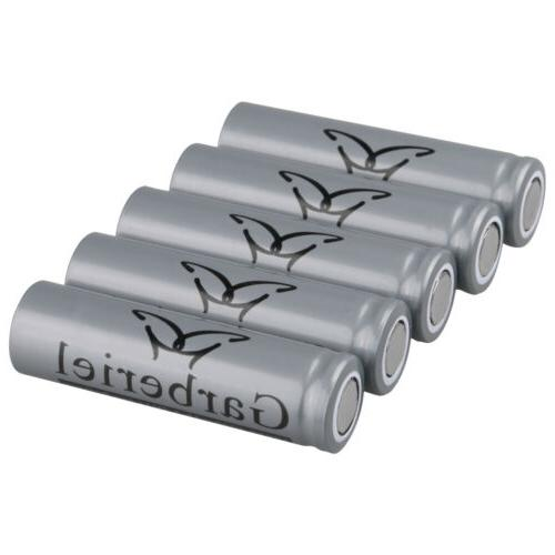 8PC Flat Top Battery Batteries for