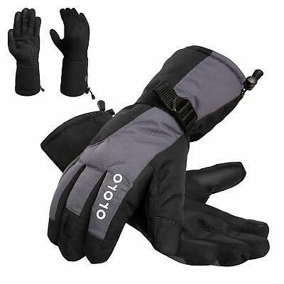heated gloves with rechargeable li ion battery