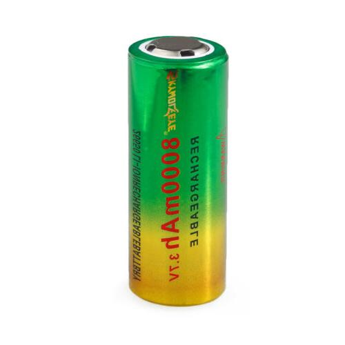 Power Rechargeable 3.7V For Flashlight Torch