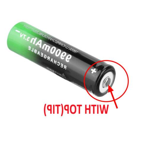 Rechargeable Li-ion Batteries with for LED Flashlight