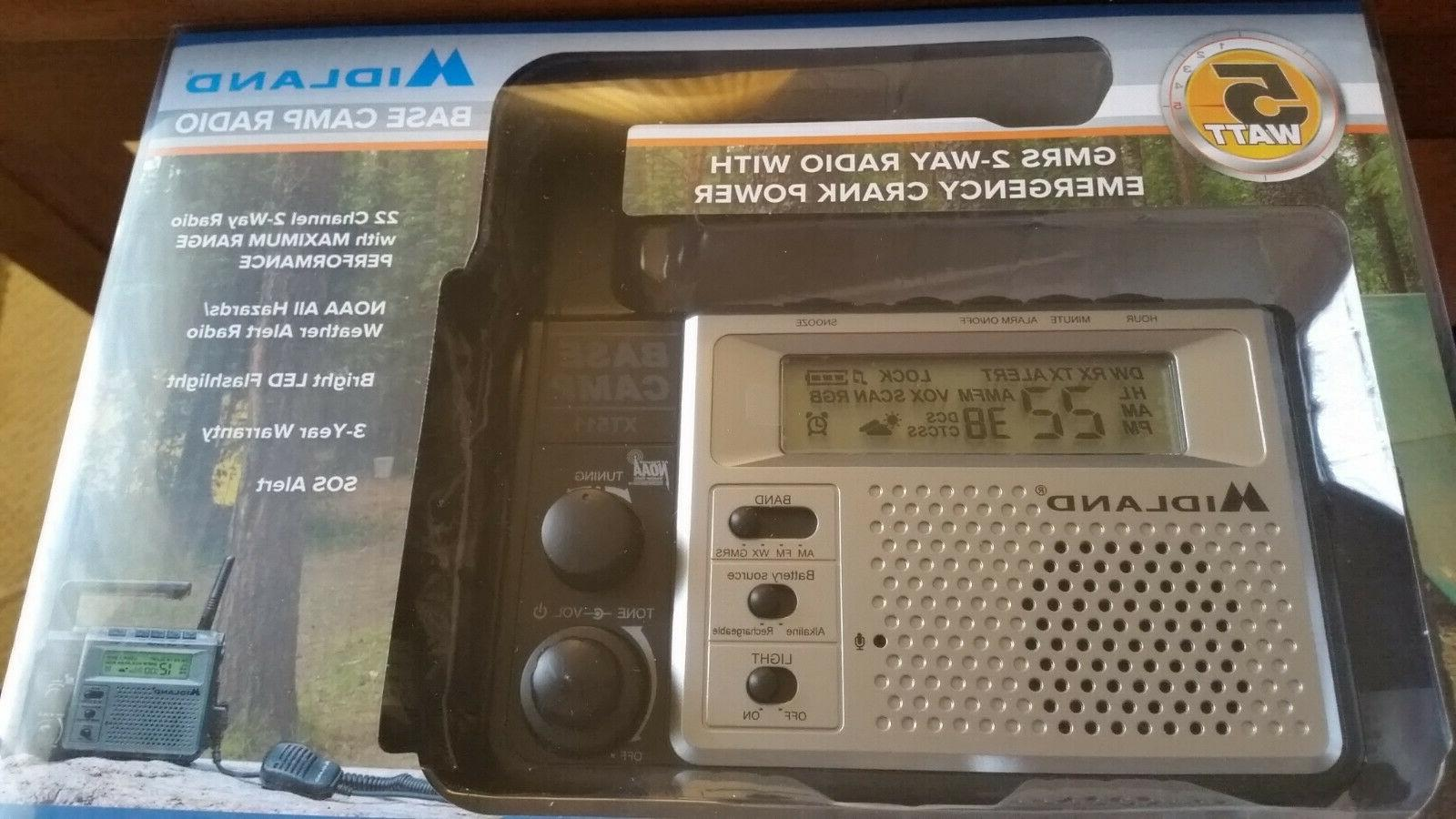 xt511 22 channel gmrs frs emerg base