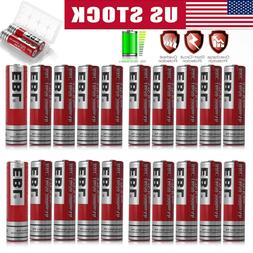 Lot EBL 3.7V 3000mAh 18650 Li-ion Rechargeable Batteries For