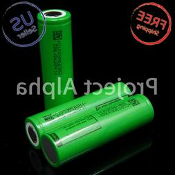 2 LG MJ1 18650 High Drain 3500mAh 10A Rechargeable Battery F