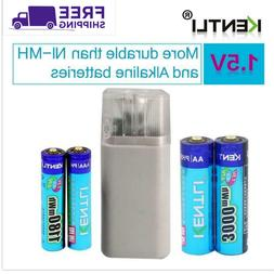 Kentli Rechargeable AA Battery 1.5V 3000mWh For Li-Polymer L
