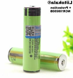 Rechargeable Batteries 3.7V PCB Flashlight 3400mah Protected